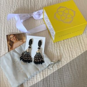 Kendra Scott • beaded drop earrings
